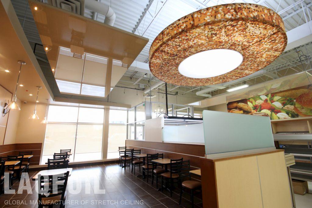 Bagel Nash Restaurant modular structures
