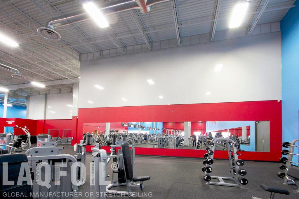 World Gym Fitness. Waterloo reflective walls