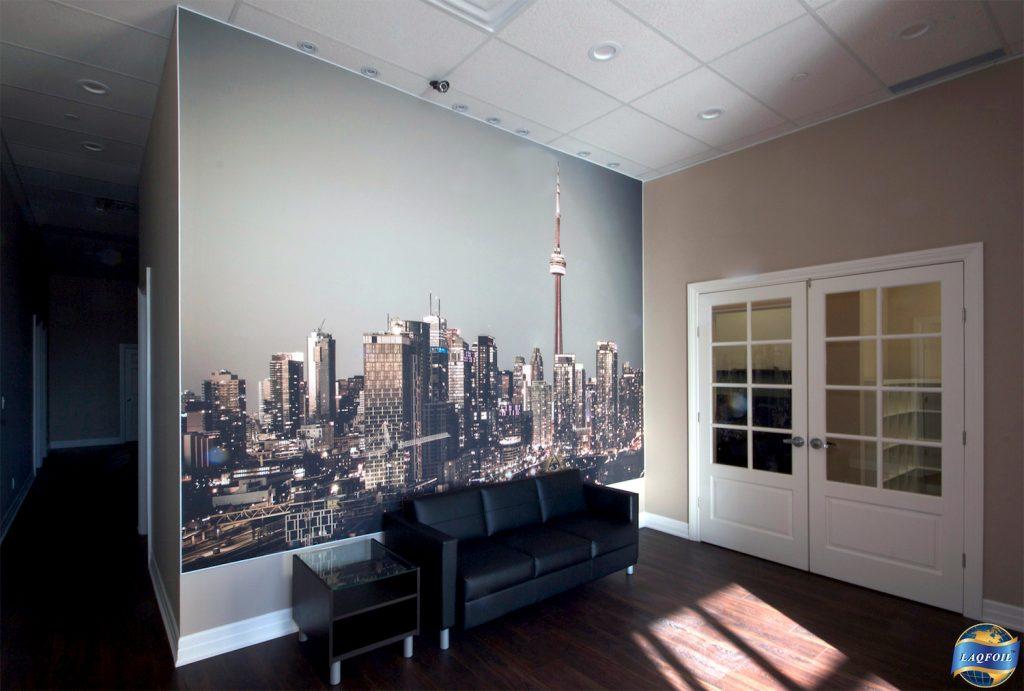 Home Life Brokerage wall mural