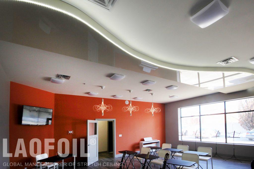 Music School of Wonder floating ceiling