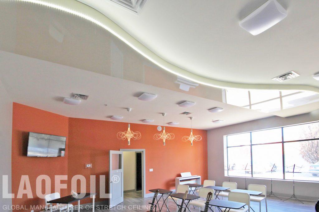 Music School of Wonder reflective ceilings