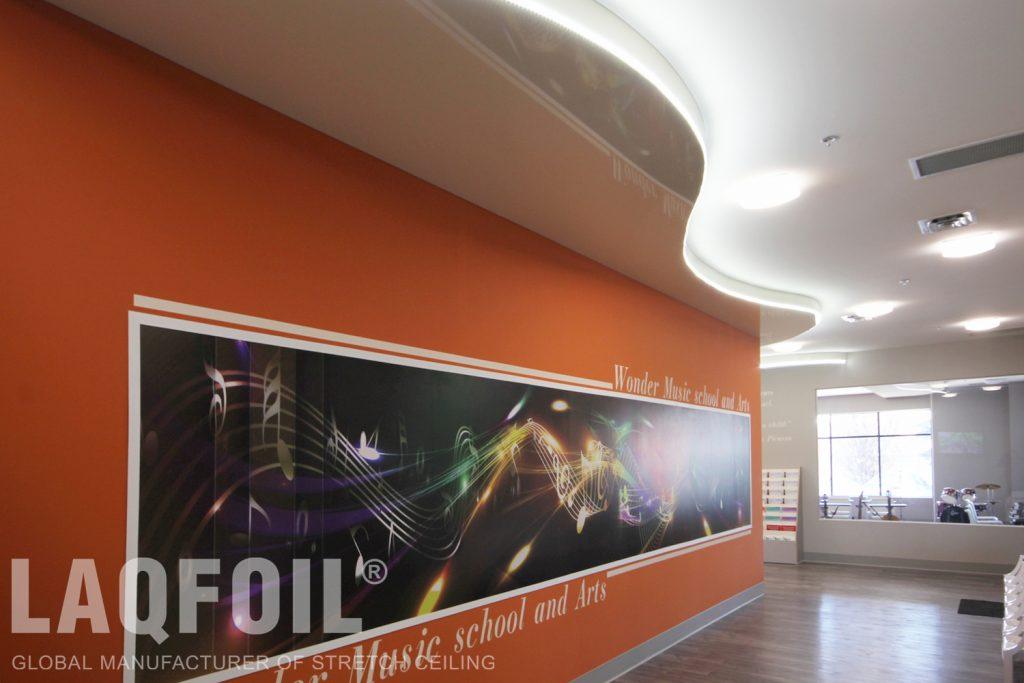 Music School of Wonder stretch ceiling