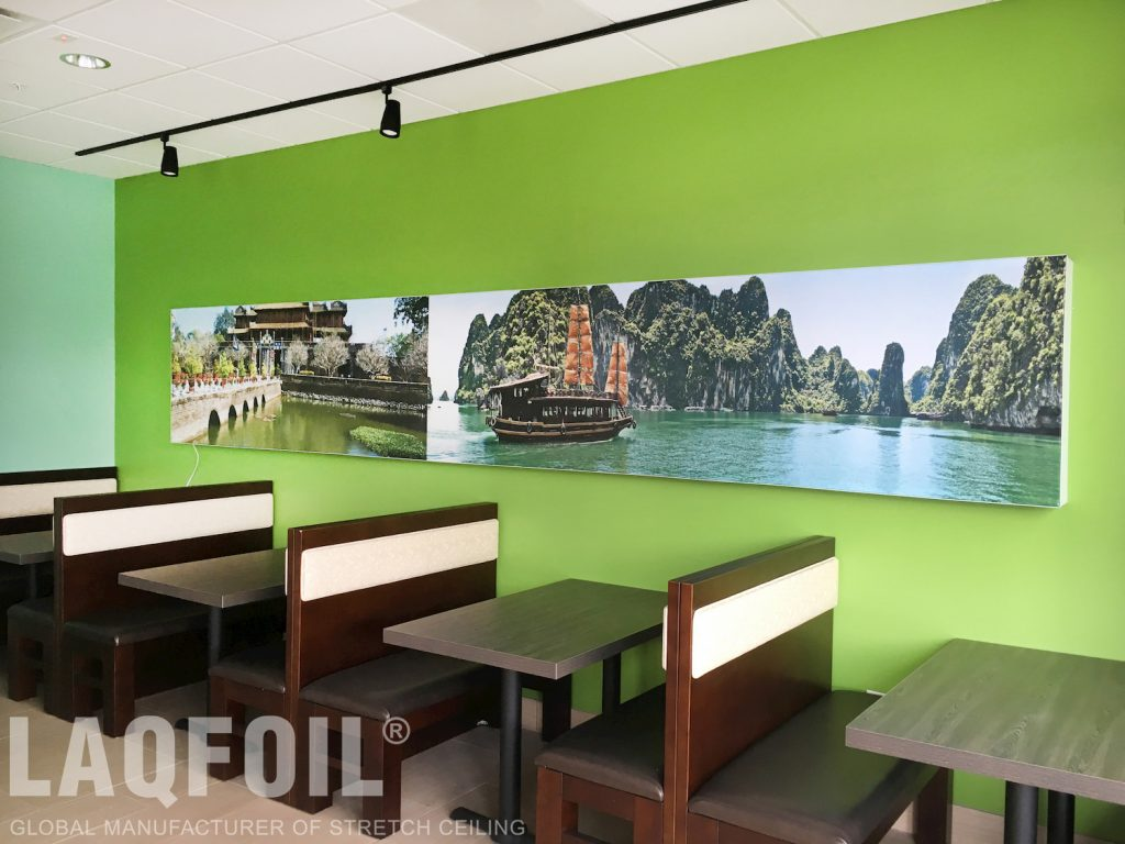 Pho Saigon Restaurant printed wall cover