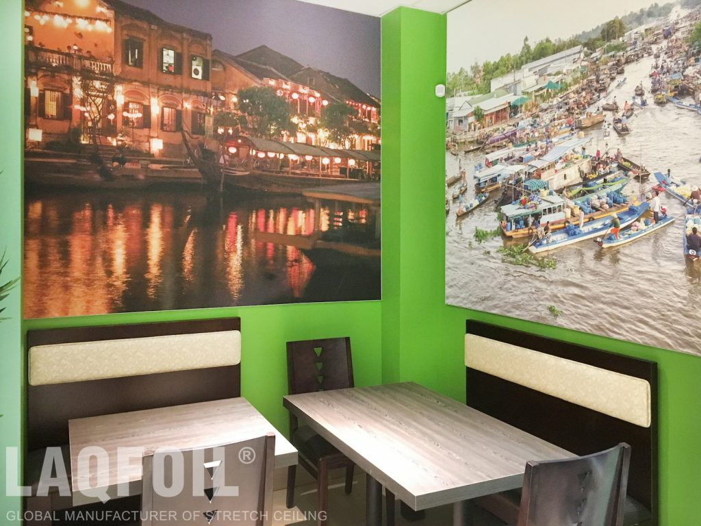 Pho Saigon Restaurant wall cover