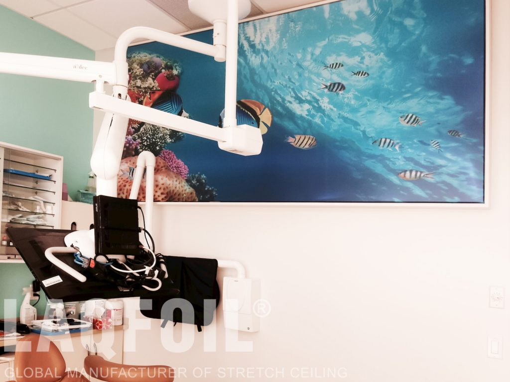 World Dental Office printed wall