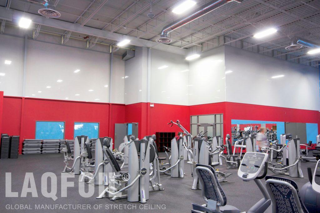 World Gym Fitness. Waterloo gloss walls