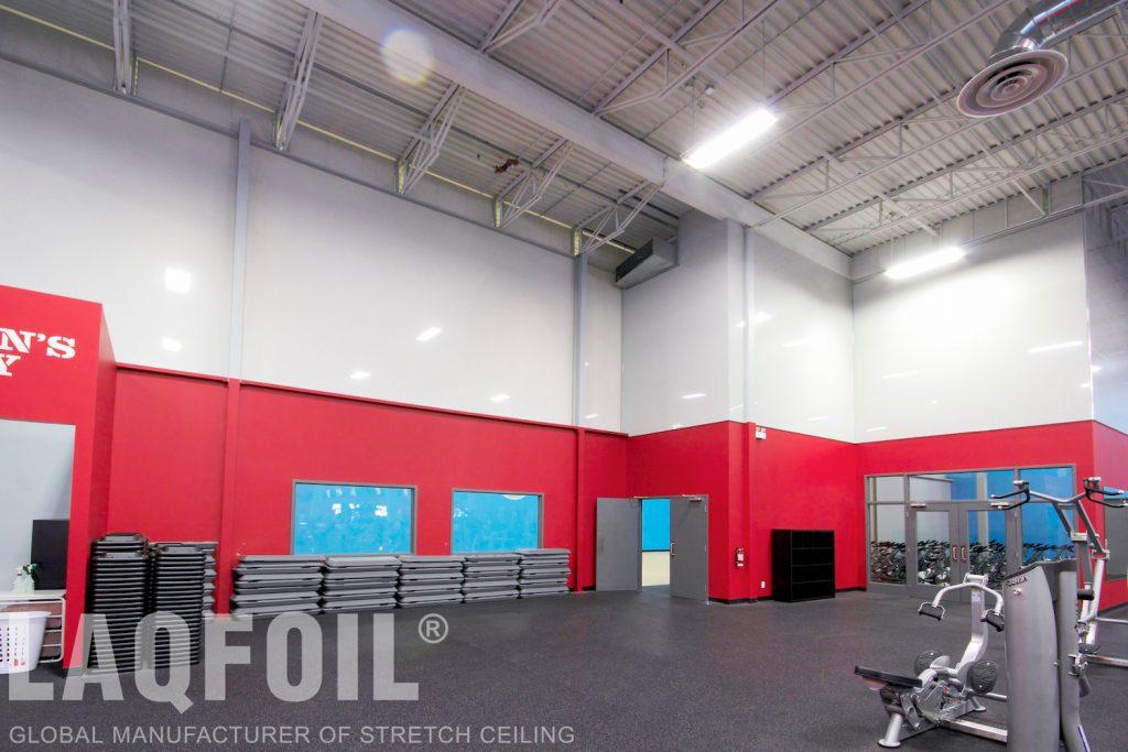 World Gym Fitness. Waterloo reflective wall murals