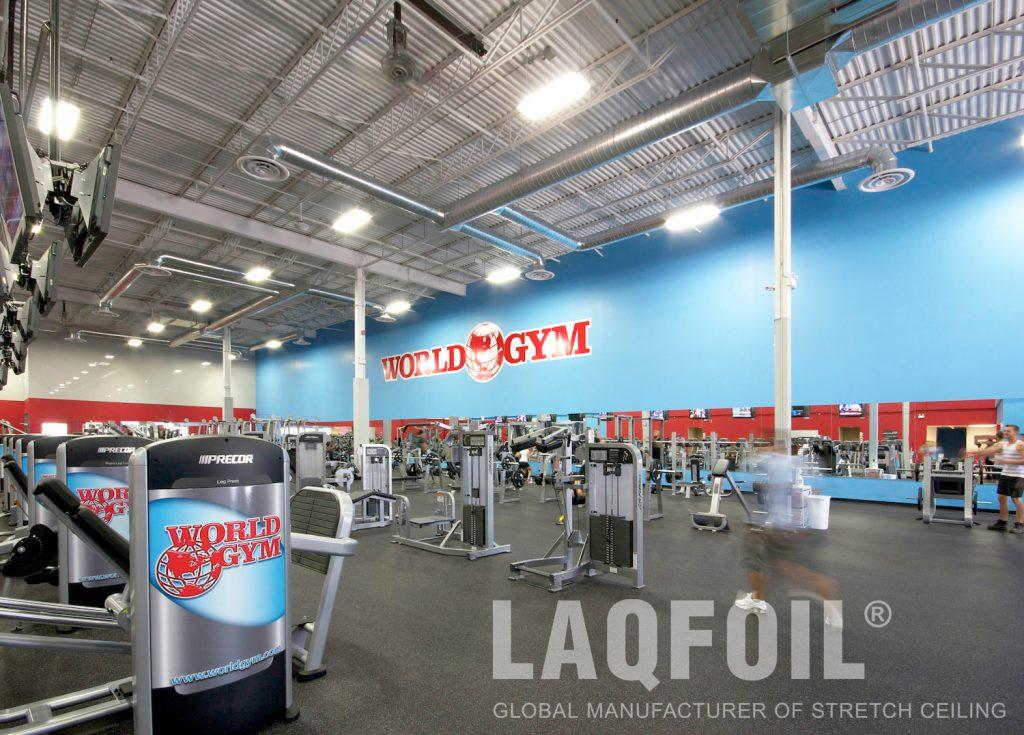 World Gym Fitness. Waterloo printed walls