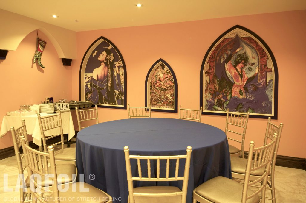 chaihana restaurant with wall murals